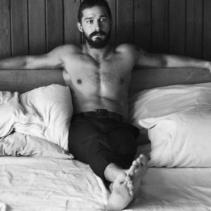 The Sexy Shia LaBeouf Undressed