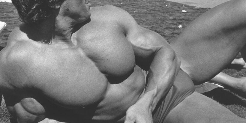 Arnold Schwarzenegger in Pumping Iron