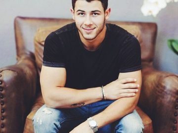Nick Jonas nice arms