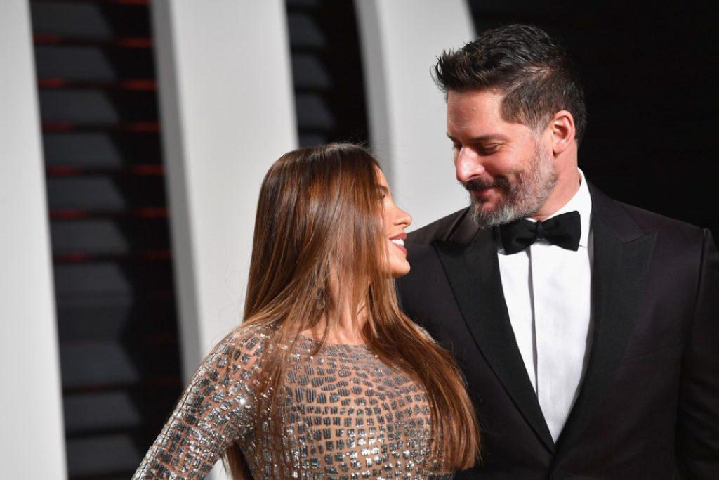 Sofia Vergara and Joe Manganiello Oscars party 2017