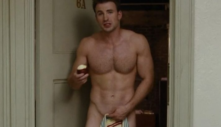 chris evans nude covering