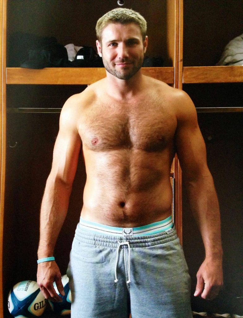Ben Cohen locker room body