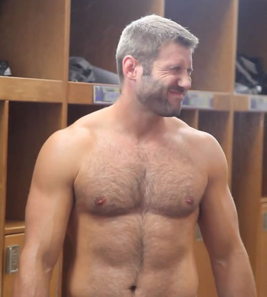 Ben Cohen hunk in locker room