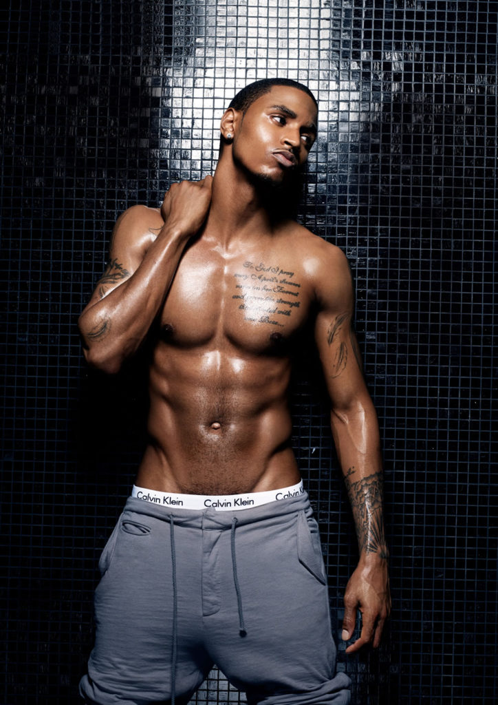 Trey Songz shirtless hot body