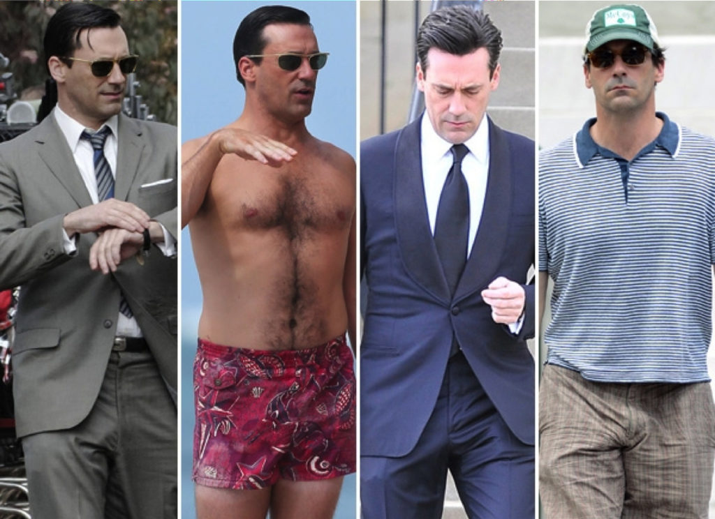 Jon Hamm bulge collage