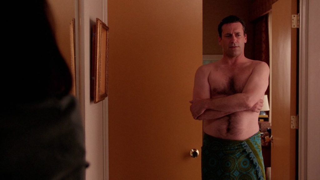 Jon Hamm shirtless