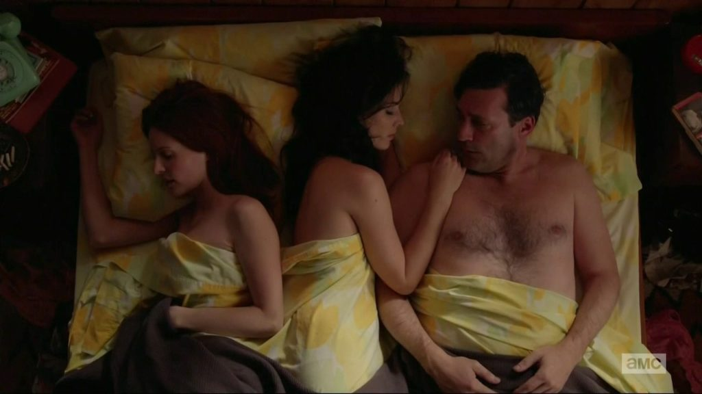 Jon Hamm threesome