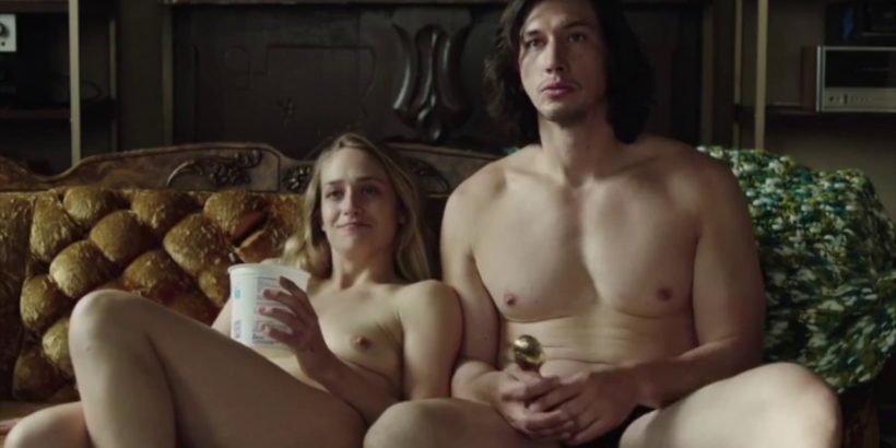 Adam Driver ripped muscles nude