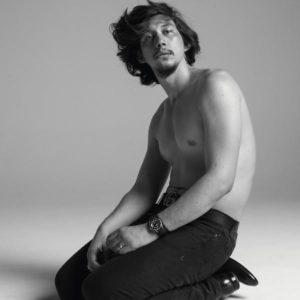 Adam Driver sexy shirtless photo shirtless
