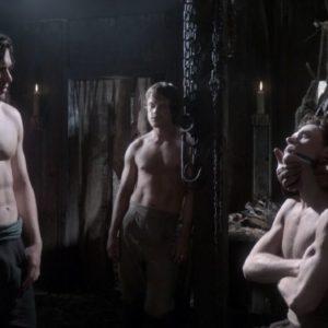 Alfie Allen masturbating nude