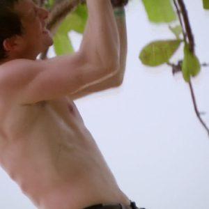 Bear Grylls exposing dick nude