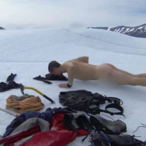 Bear Grylls hunk nude