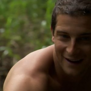 Bear Grylls photo shoot nude