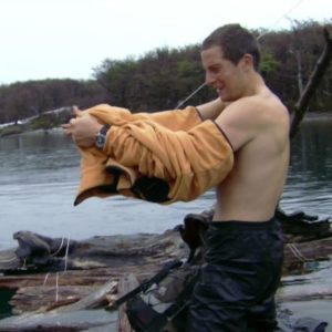 Bear Grylls sexy shirtless photo nude