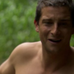 Bear Grylls shirtless picture nude