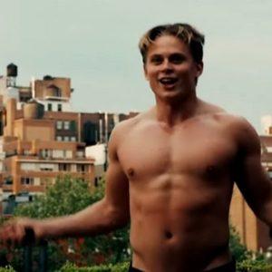 Billy Magnussen chest nude