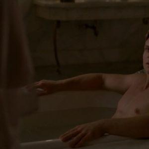 Billy Magnussen masturbating nude