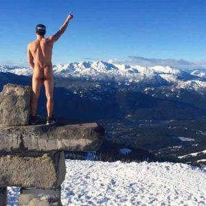 Blake McPherson hard nude