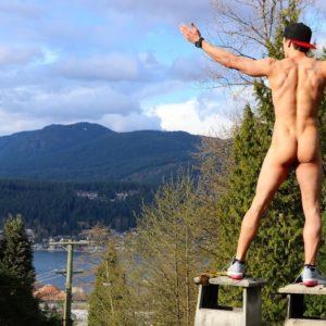Blake McPherson photo shoot nude