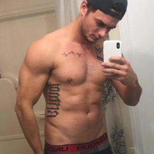 Blake McPherson shirtless picture nude