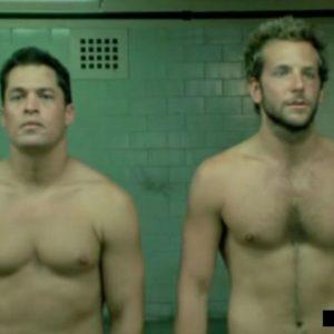 Bradley Cooper beautiful body nude