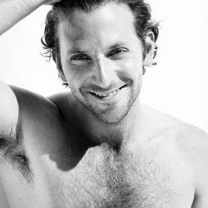 Bradley Cooper chest nude