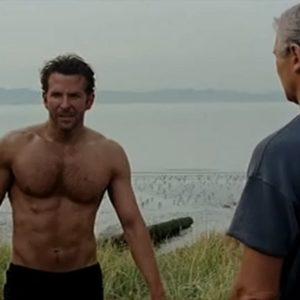 Bradley Cooper masturbating nude