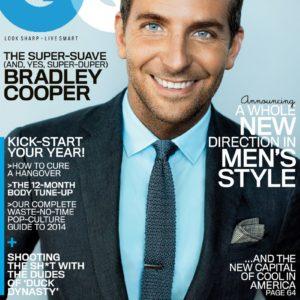 Bradley Cooper uncensored nude pic gq