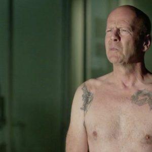 Bruce Willis masturbating nude