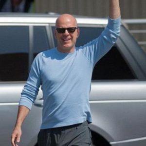 Bruce Willis photo shoot sexy