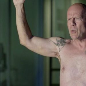 Bruce Willis ripped muscles nude