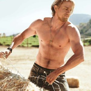 Charlie Hunnam chest sexy