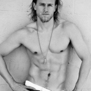 Charlie Hunnam uncensored nude pic sexy