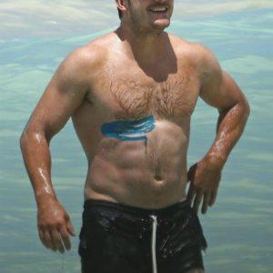 Chris Pratt chest nude