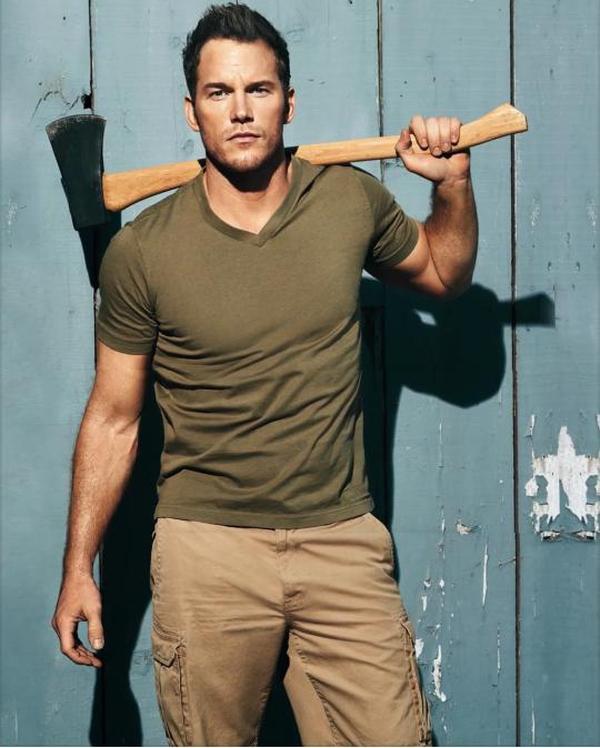 Chris Pratt nice muscles sexy
