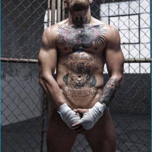 Conor McGregor full frontal sexy