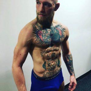 Conor McGregor naked sexy