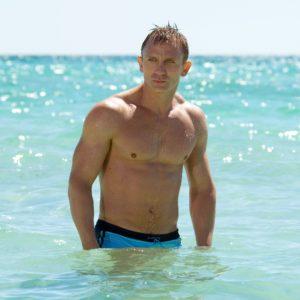 Daniel Craig dick slip sexy