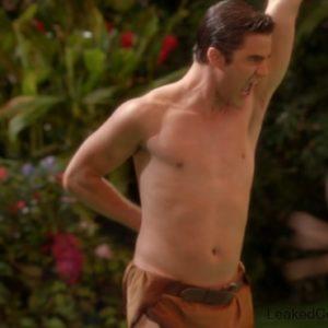 Darren Criss beautiful body sexy & shirtless