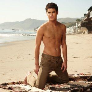 Darren Criss chest sexy & shirtless