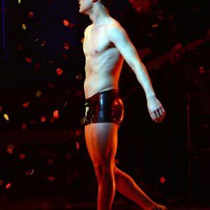Darren Criss hard shirtless