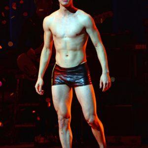 Darren Criss ripped muscles shirtless