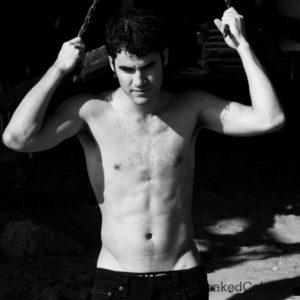 Darren Criss sexy selfie sexy & shirtless