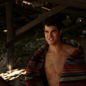 Darren Criss uncensored nude pic sexy & shirtless