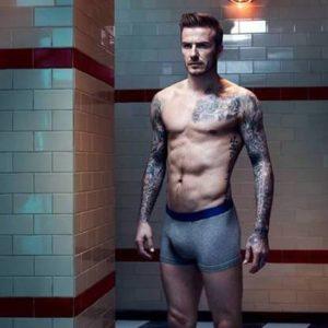 David Beckham ass nude