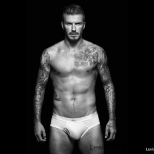 David Beckham chest nude
