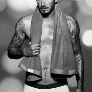 David Beckham dick slip nude