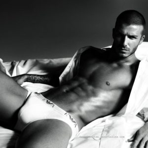 David Beckham jerk off nude