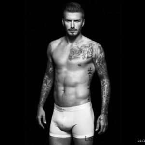 David Beckham penis exposed nude