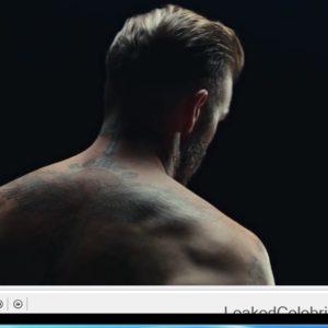 David Beckham porn nude